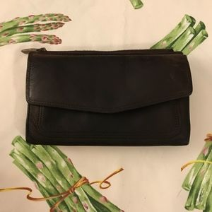 Fossil Brown Heavy Leather Wallet